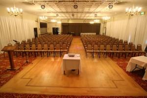 Balmoral Theatre Setup